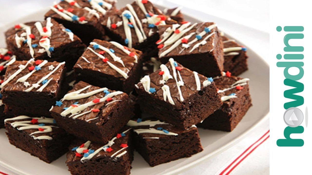 Brownie Birthday Cake Ideas