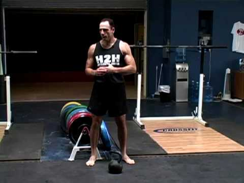 Basic Kettlebell Swing, Part I, Jeff Martone Image 1