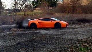 Lamborghini Gallardo - Best Drift Ever [HD] 2015
