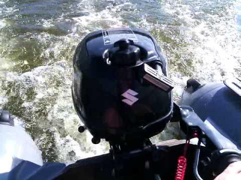 как обкатывать лодочный мотор сузуки