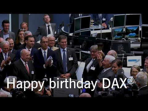 30 Jahre DAX – Opening Bell Event