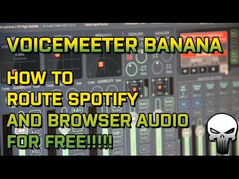 Voicemeeter Tutorial:  Change Spotify and Browser Audio Ouput for Free