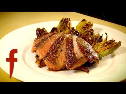 Рибай со сливочным маслом и артишоками на гриле - Рецепт Гордона Рамзи