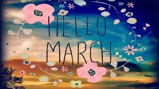 Mes colos et Diamond painting de mars, mon bullet journal d'avril