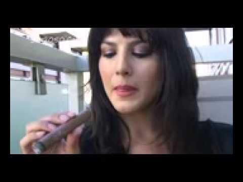 Sunny Leone Teaches How To Smoke A Cigar 00 video