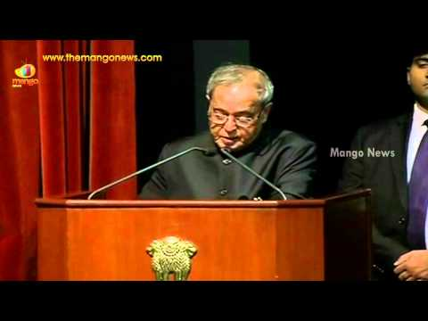 President Pranab Mukherjee speech on importance of Hindi language at Hindi Divas event