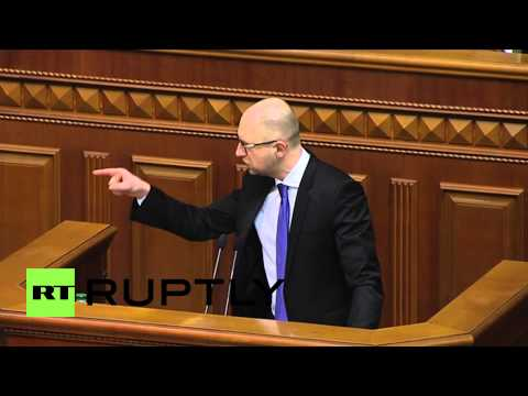 Ukraine: 'The task for 2015 is to survive' - Yatsenyuk
