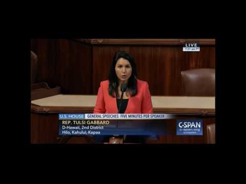 Rep. Tulsi Gabbard Calls for Federal Decriminalization of Marijuana