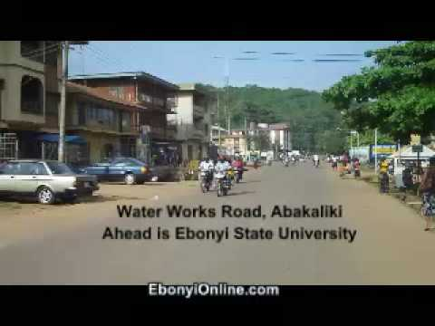 Abakaliki niger City Water Works Road Abakaliki