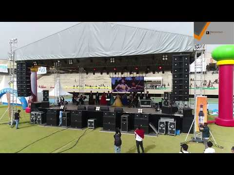 Tigrigna song  adey mekelle by Korean singer on 9th all Africa University Games