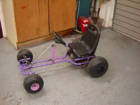 how to make go kart with lawn mower engine