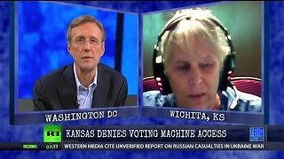 Republican Fraud:   Something Very Wrong with Voting Machines in KS?