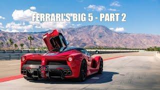 FERRARI'S BIG 5: 288 GTO vs F40 vs F50 vs Enzo vs LaFerrari - PART 2