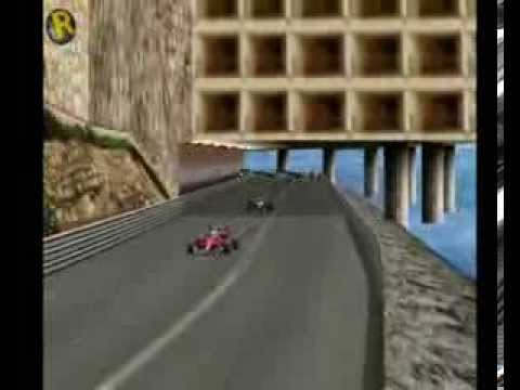 Mansell ultrapassa Alesi na chicane após o túnel em Mônaco. Mansell overtakes Alesi in the chicane after the tunnel in Monaco. GRAND PRIX 3 - Season 1991.