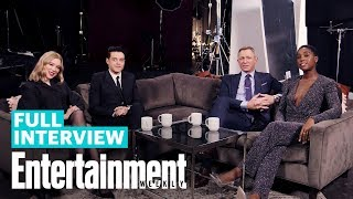 Download lagu 'No Time To Die' Cast Daniel Craig, Rami Malek, Léa Seydoux & Lashana Lynch | Entertainment Weekly