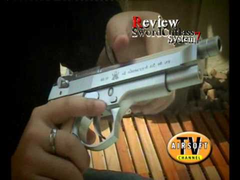 Review ปืนสั้น KSC Sword Cutlass