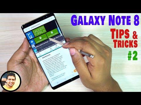 GALAXY NOTE 8 Best Hidden Features, TIPS & TRICKS #2 Must Watch