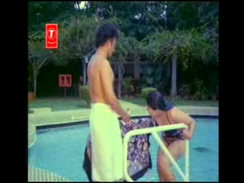 Moon Moon Sen in swimsuit kissed by ugly guy