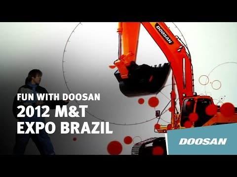 Doosan 'SERVICE' visual Performance at 2012 Brazil M&T Expo