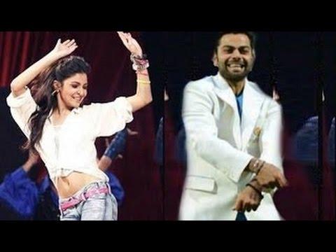 IPL 8 Opening Ceremony 2015 - Virat Kohli and Anushka Sharma Performance