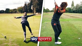 Golf Challenges with Serena Guthrie and Maddie Hinch! 🏌️‍♀️