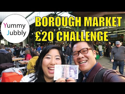 What to eat at London Borough Market and not overspend?