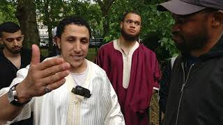 PROOF GOD EXISTS!! | Shamsi Discusses With Agnostic At Speakers Corner