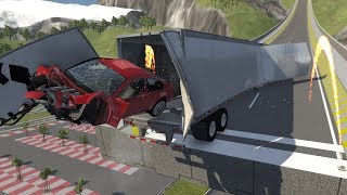 BeamNG.drive - Car Jump Arena Revisited