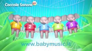 L'elefante si dondolava - Italian Songs for children by Coccole Sonore