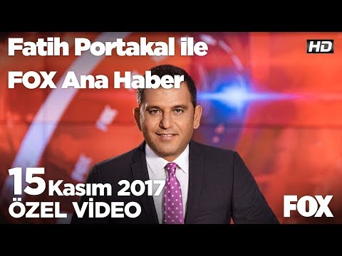 """Gökçek'in meşhur """"Fışkiye""""si artık yok...15 Kasım 2017 Fatih Portakal ile FOX Ana Haber"""