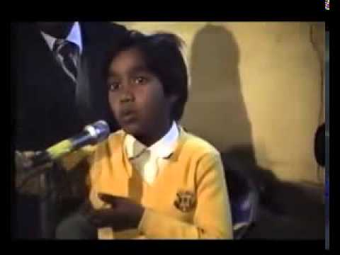 Best Sufi Song By Master Saleem at the age of 6-7 Rare video...