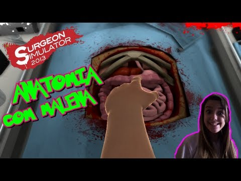 Surgeon Simulator 2013 #2 Anatomia Com Malena! video
