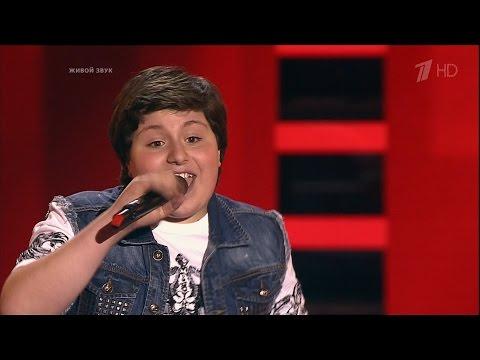 The Voice Kids Russia 2016. Maksimilian (Максимилиан Хихинашвили) — «Volare». Голос Дети 3