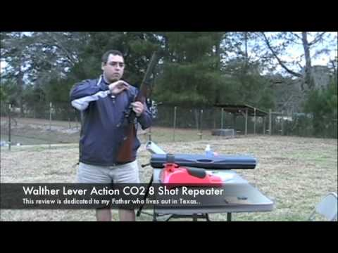 Walther Lever Action - 8 Shot CO2 Pellet Rifle Repeater