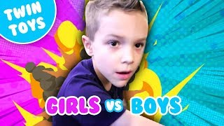 Nerf Series: Boys vs Girls 3