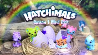 Unbox Daily: Hatchimals CollEGGtibles Season One Surprise Blind Bags HATCHING - Toy Review - 4K