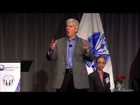 Gov. Rick Snyder Address - Veterans Summit 2013