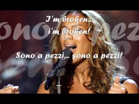 Broken   Leona Lewis   testo e traduzione ita