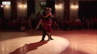 2016 Patricia and Matteo dance tango to Mi Natai at Cheltenham International Tango Festival