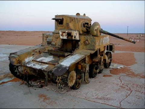 World War II Tank & Vehicle Relic's in Libya
