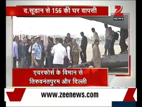 Operation Sankatmochan successfully airlifted 156 Indian from South Sudan to India
