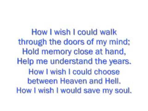 James Blunt - Tears And Rain Lyrics Video
