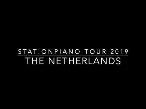 Stationpiano Tour 2019 in The Netherlands