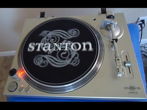 Staton STR8-20 Professional Belt Drive Turntable ____ sn-S82040400762