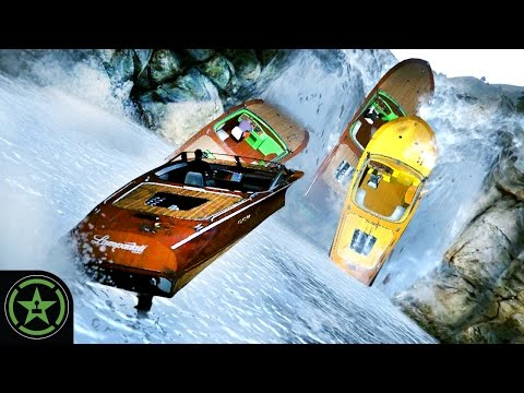 Things to Do In GTA V – White Water Rapids