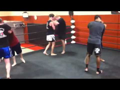 Muay Thai Clinch Training at Siam Star MMA in Dallas, TX Image 1