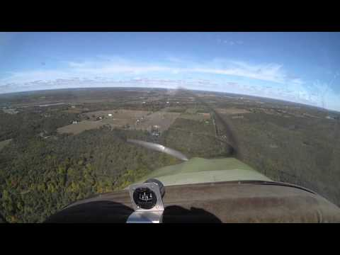 Stirling Airport landing in a Zenair CH-300 camera is Drift Innovation HD170