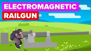 US Military's Most Powerful Cannon ? Electromagnetic Railgun