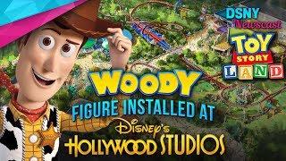 WOODY Figure Installed at TOY STORY LAND In Walt Disney World - Disney News - 4/24/18
