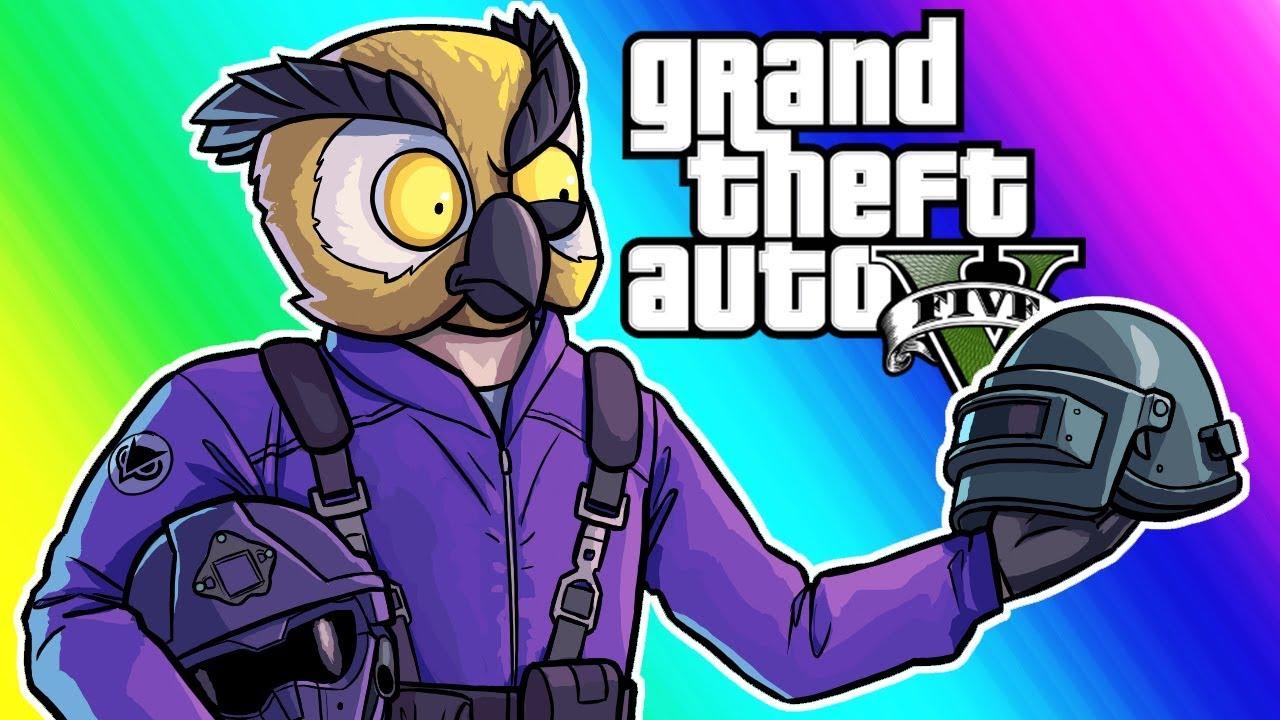 GTA 5 Online Funny Moments - Motor Wars!